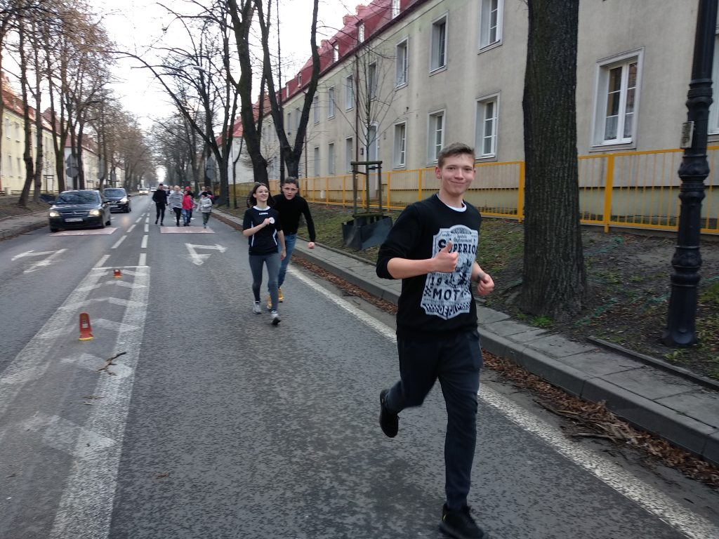 Bieg z okazji Narodowego Dnia Pamięci Żołnierzy Wyklętych.