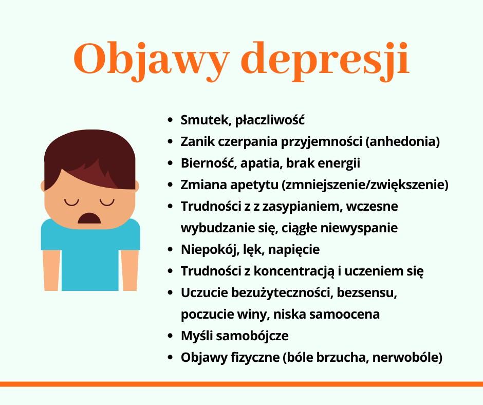 Nasza Szkoła będzie pomagać w walce z depresją.