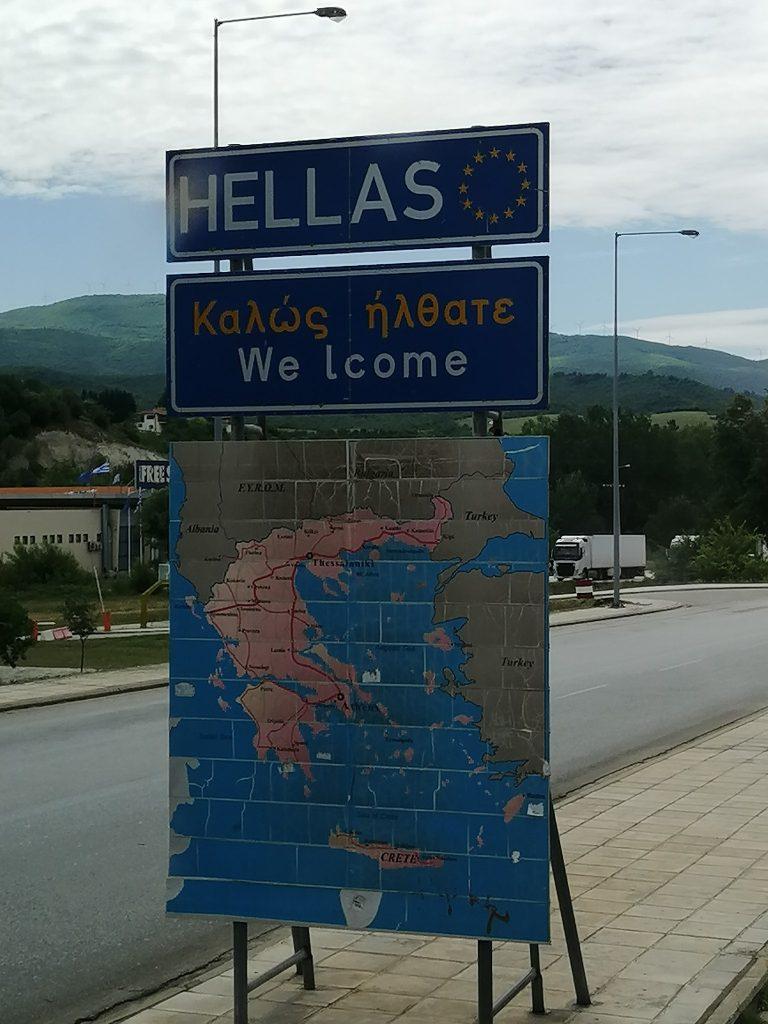 Już w Grecji 🙂
